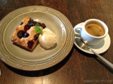 Cafe Bibliotic Hello,京都,二条,チェリーとベリーのアメリカンケーキ